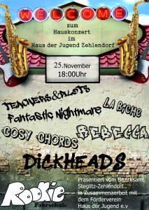 HAUSKONZERT @ Haus der Jugend Zehlendorf