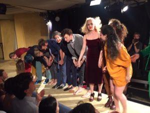 Die durchgedrehten Drama Theater Proben