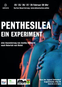 Die Debütanten präsentieren Penthesilea: Ein Experiment